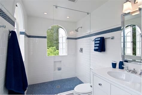 royal blue and white bathroom tile archives flooring in portsmouth nh the b c floor