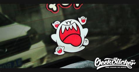 Cutting Sticker Jdm Flag ghost vinyl decal car motorcycle window sticker jdm hellaflush stance reflective waterproof cool