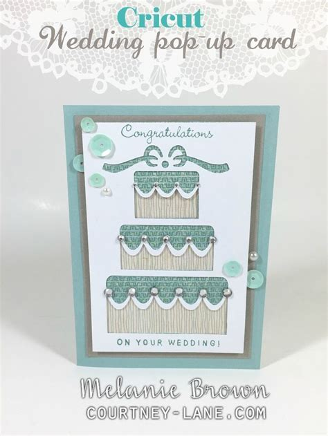 Cricut Wedding Pop Up card   Ctmh/Cricut   Pinterest