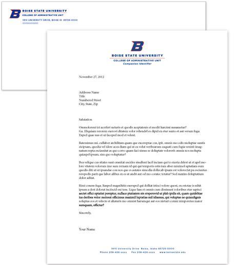 College Of Development Communication Letterhead Letterhead Brand Standards