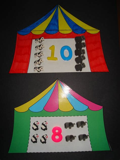 circus crafts for the big top lilteacher lots of ideas thema