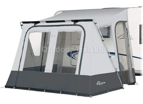 Lightweight Porch Awning by Dorema Starc Mistral 300 Lightweight Caravan Porch