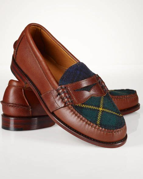 ralph loafer cotton jacquard workshirt ralph loafers and buckets