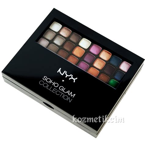 Nyx Soho Glam Collection nyx soho glam collection makyaj seti