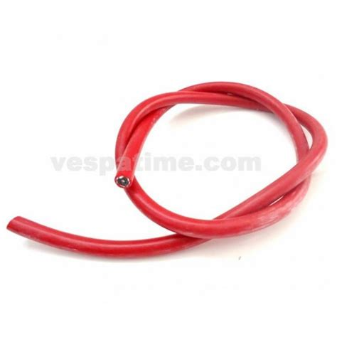 cavo candela cavo candela in silicone rosso