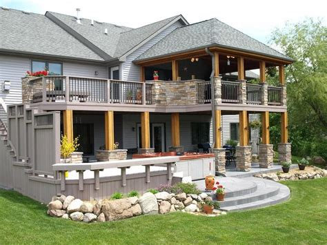 ideas for covered back porch on single story ranch google image result for http central iowa archadeck com