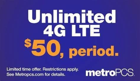 metropcs launches new $50 unlimited 4g lte plan tmonews