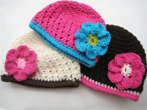 free crochet pattern newborn flower hat crochet dreamz september 2011