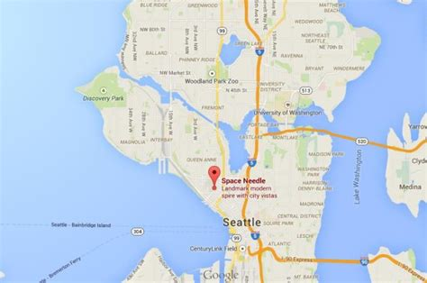 Seattle Location Map Bnhspine by Seattle Location Map Bnhspine