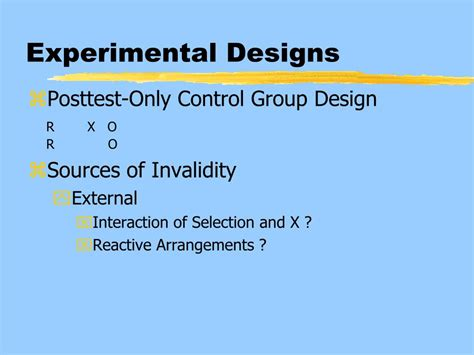 experimental design problems ppt research in practice using better research design