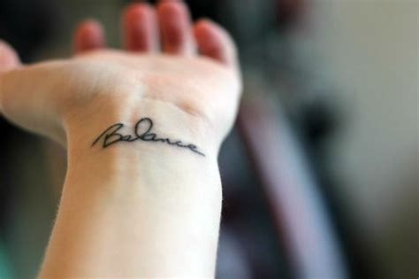 tattoo placement exles 40 charming one word tattoo exles