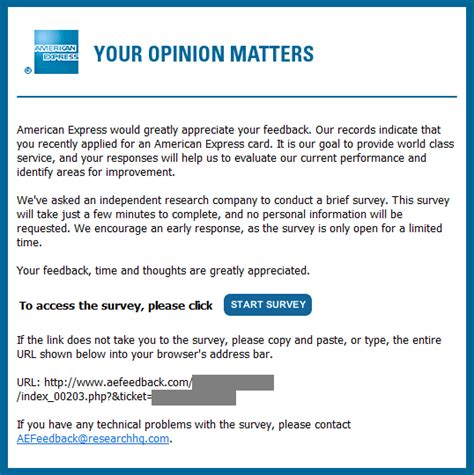 format email american express should you use one click surveys or long form traditional