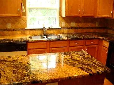 Yellow Kitchen Backsplash Ideas exotic granite countertops with tile backsplash