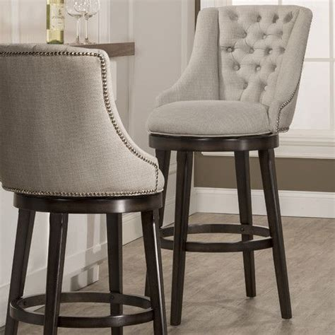 swivel bar stools ideas  pinterest kitchen island stools  backs silver bar