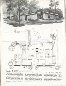 mid century modern homes floor plans vintage house plans distinctive mid century contemporary