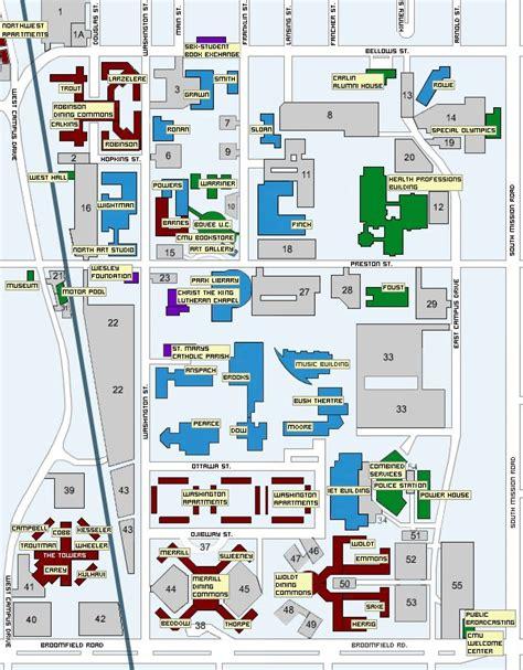 cmu map panoramio photo of cmu cus map
