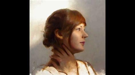 Oil Portrait Painting Techniques Youtube