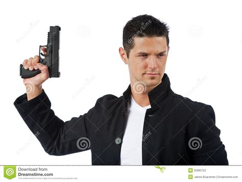 man holding holding gun up www imgkid com the image kid has it