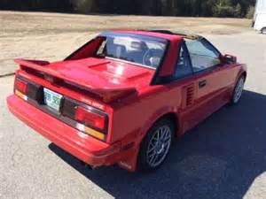 Toyota Mr2 For Sale 1988 Toyota Mr2 For Sale Used Cars For Sale