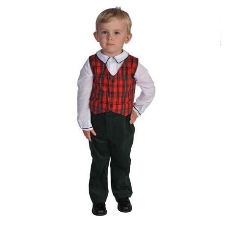 boys christmas outfit size 8 boys holiday plaid vest set http www woodensoldier com