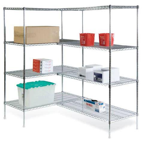 wire shelving corner units marketlab