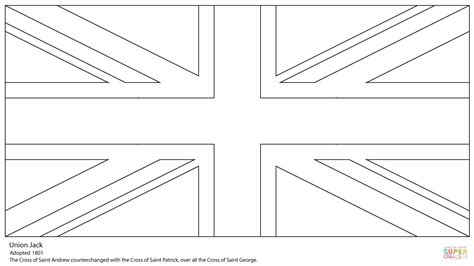 clever design british columbia flag coloring page