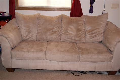 squirting on the couch clean a microfiber couch with four simple ingredients