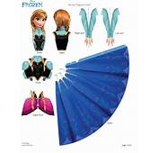 Frozen Free Printable 3D Paper Dolls  Is It For PARTIES