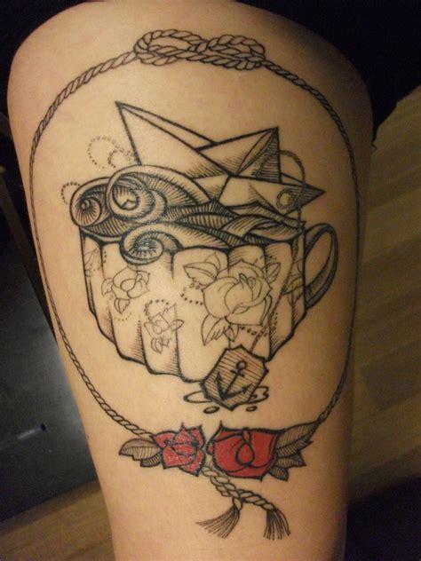 maria tattoo designs in a teacup by artist mar 237 a nik 243 lskaya line