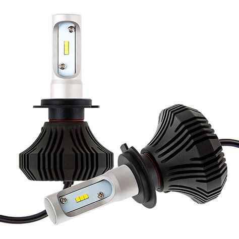 h7 le led headlight kit h7 led fanless headlight conversion