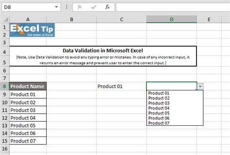 pattern validation in excel how to create drop down list with data validation in excel