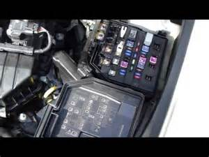 how to check and change fuses honda civic year models