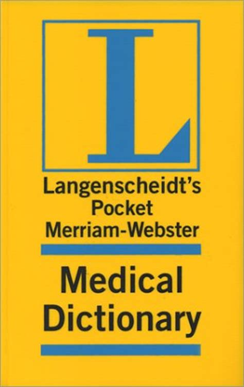 hemangioma medical definition merriam webster medical langenscheidt pocket dictionary series new and used