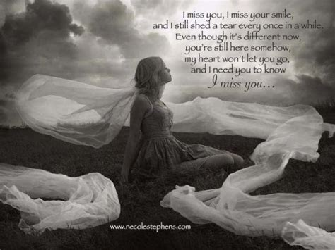 I Still Shed A Tear Every Once In Awhile Lyrics by I Miss You I Miss Your Smile And I Still Shed A Tear