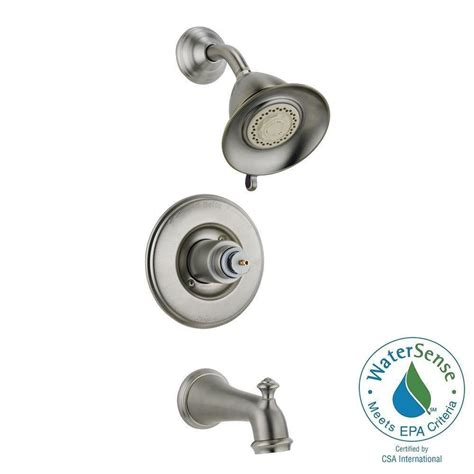 3 Shower Faucet by Delta 1 Handle 3 Spray Tub And Shower Faucet