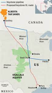 keystone xl pipeline hearing sees show of from