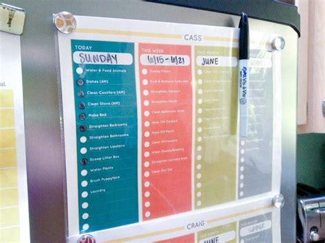 chore chart  printable household chores chart