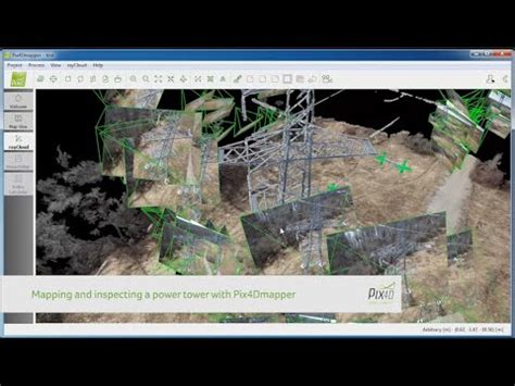 pix4d mapping and inspecting a power tower youtube