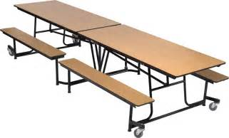 5 Ft Folding Table Dine Mobile Folding Cafeteria Table Accent Environments