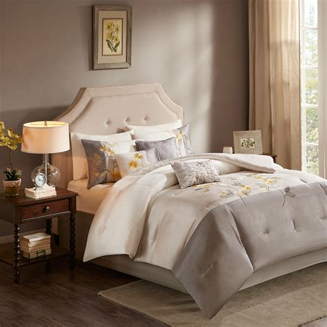 madison park comforter sets madison park bloom 7 piece comforter set ebay