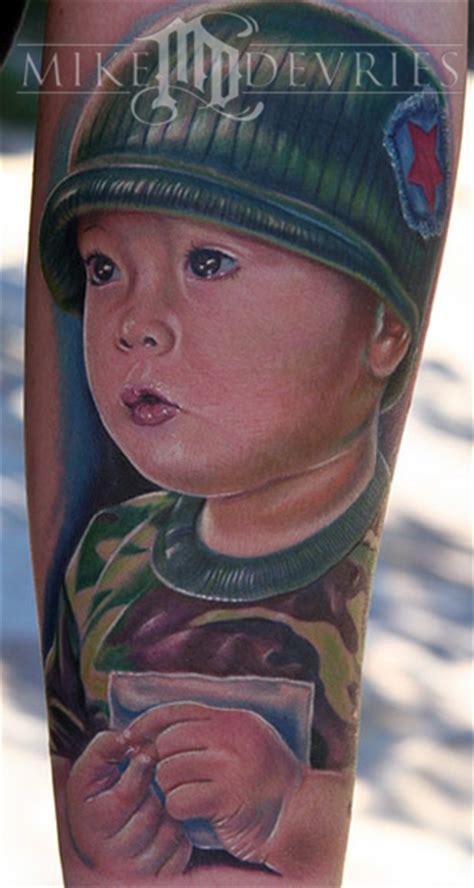 pomona tattoo expo mike devries tattoos portrait portrait