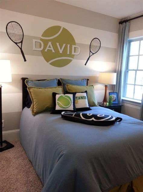 tennis wall murals custom kids tennis bedroom wall