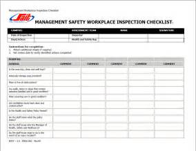 office safety inspection checklist template workplace inspection checklists ohs insider