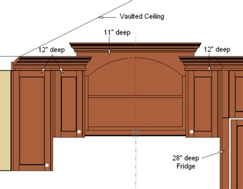 Crown Moulding Above Kitchen Cabinets by Crown Mouldings On Varying Cabinet Heights Stonehaven Life
