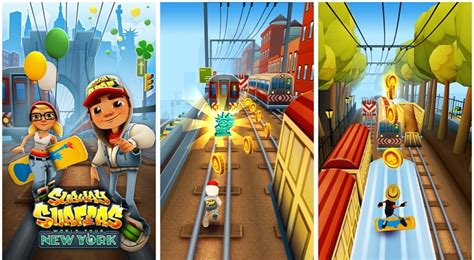 imagenes de subway subway surfers for android and windows phone gets new york