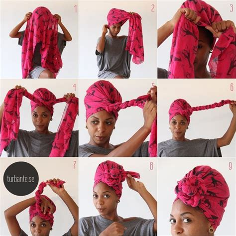 simple hair bandana for covering patch of bald head for ladies turbante se tutorial flor foto angeluci figueiredo