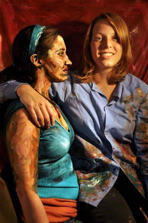 people painting painted people 31 works of art on human canvas urbanist