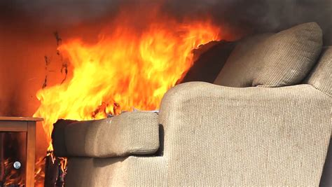 sofa fire burn down footage page 7 stock clips videos