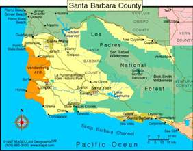 santa barbara california santa barbara and california on