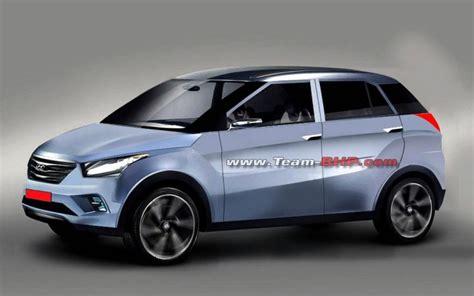 new hyundai h1 201 team bhp renders the upcoming 2015 hyundai compact suv